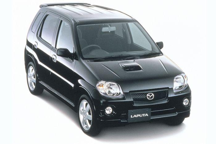 Mazda Laputa un branding douteux pour les marchés hispanophones