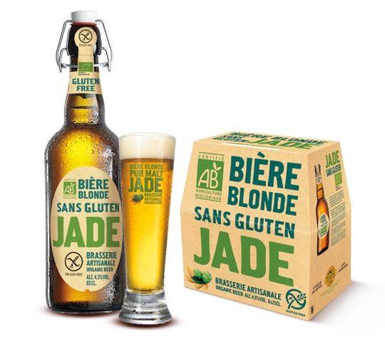 branding naturel écologie bière Jade