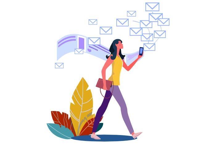 rapidité email crise