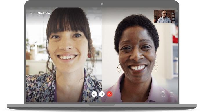 Skype réunion vidéos