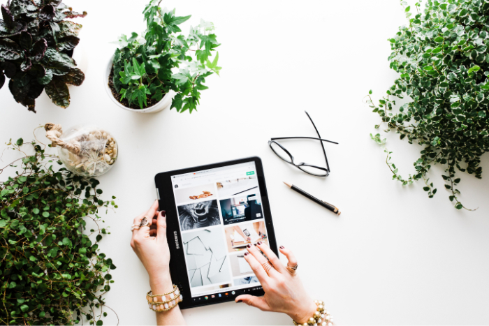tablette ecommerce
