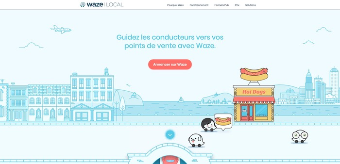 marketing local Waze
