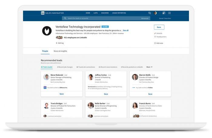 Linkedin sales generator social selling