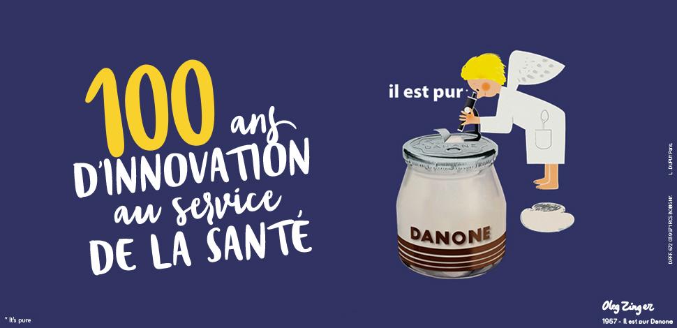 100 ans Danone