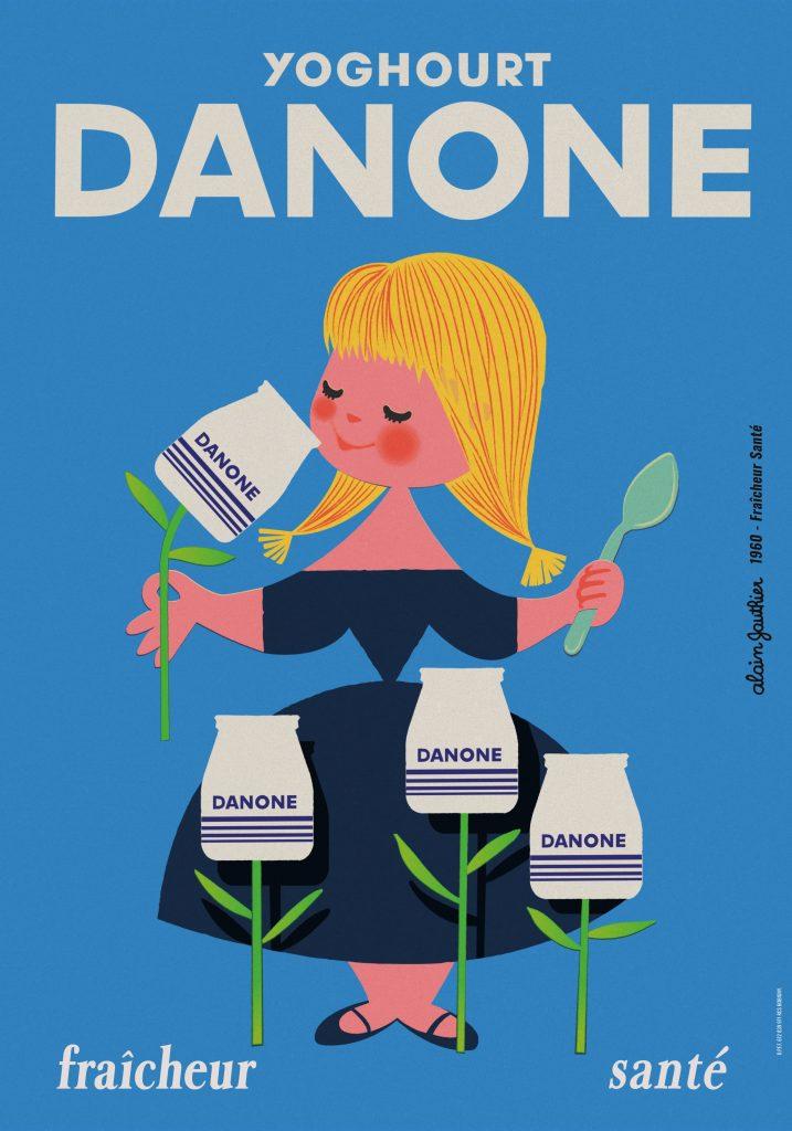 Publicité Danone
