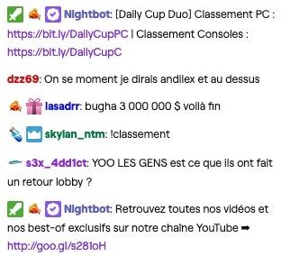 chatbot Twitch marketing