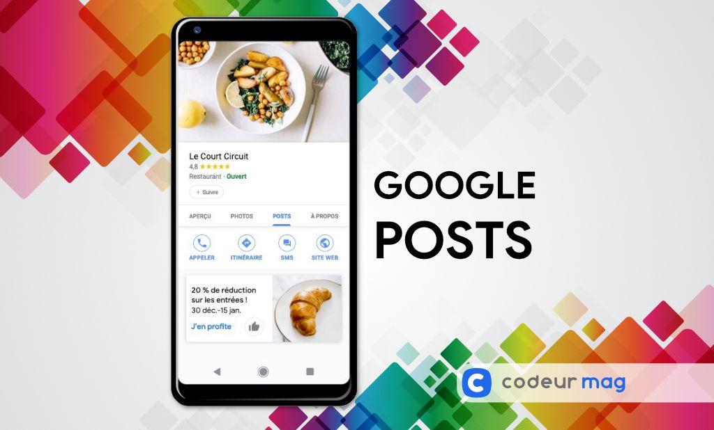Google Posts SEO local
