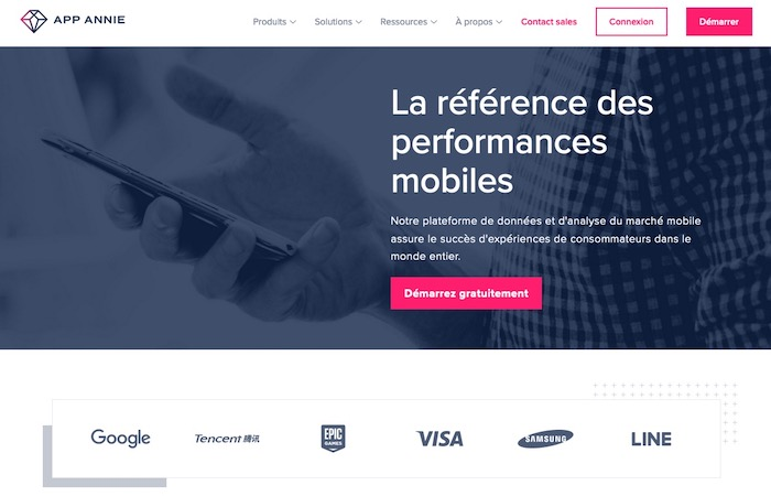 App Annie outil analyse statistiques applications mobiles