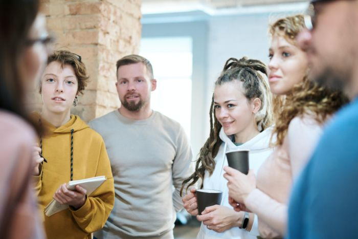 réunion marketing agile