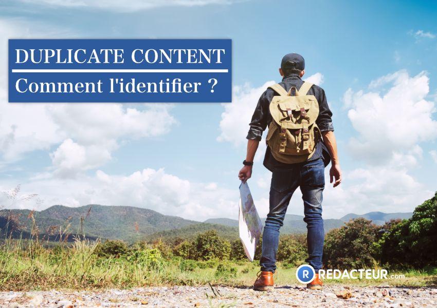 Identifier duplicate content
