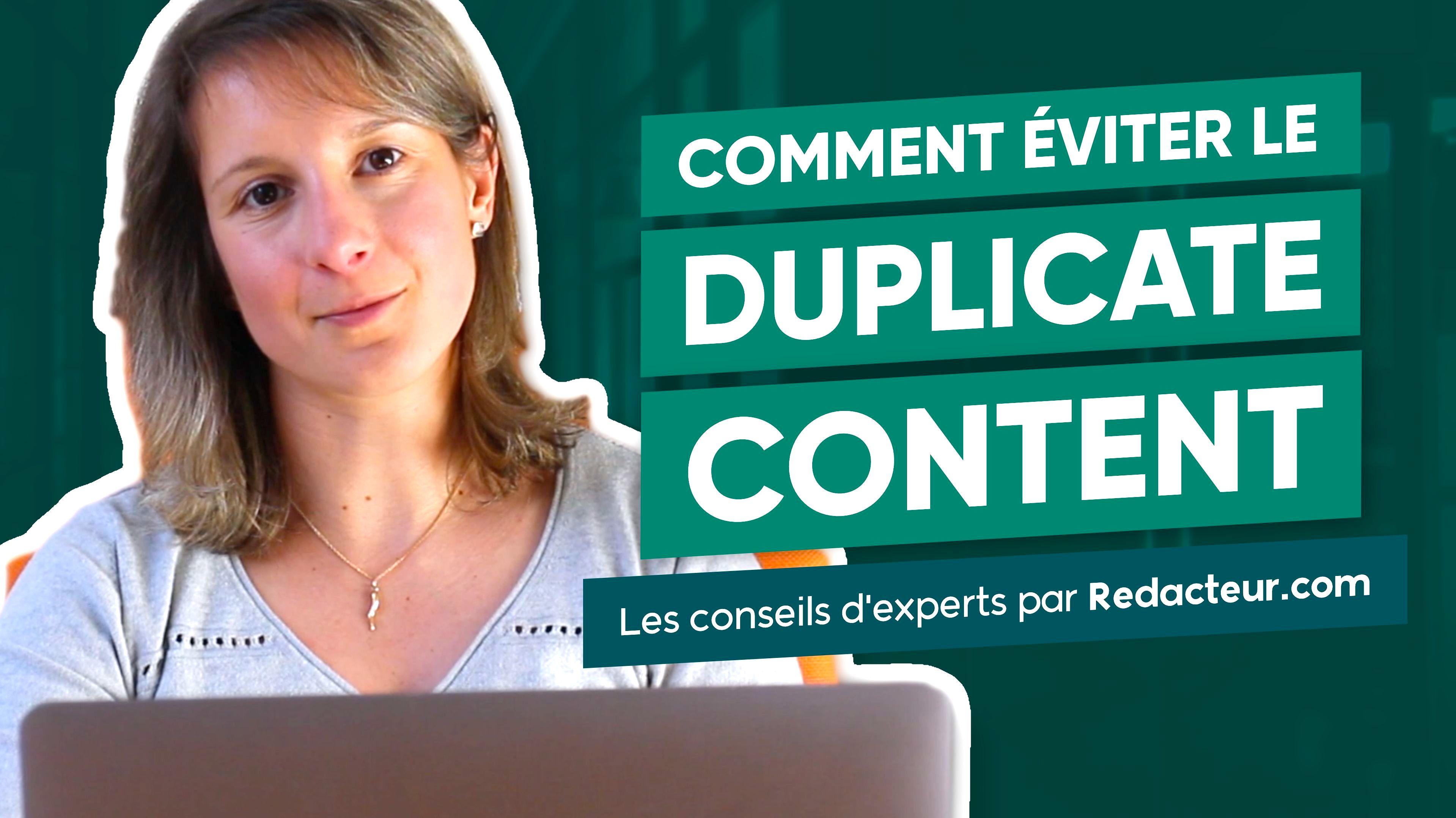 Vidéo duplicate content