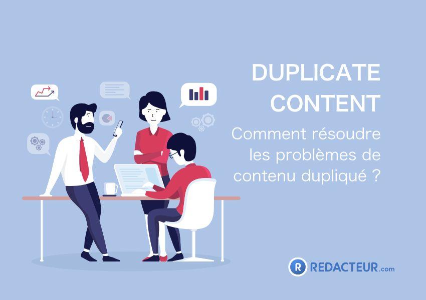 Problème duplicate content