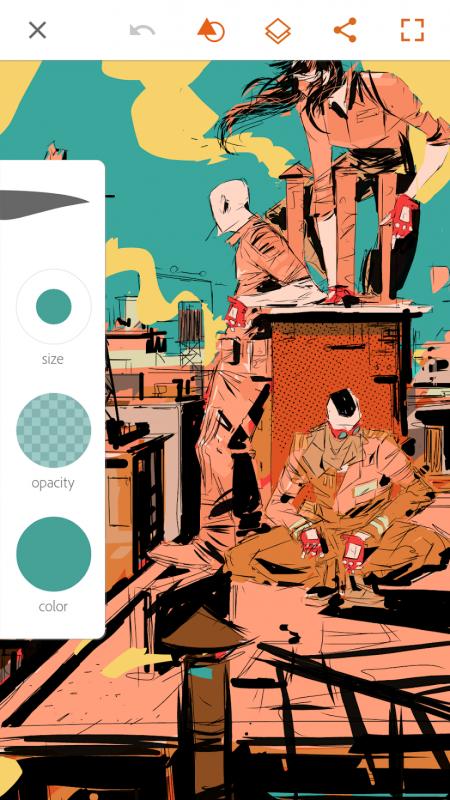 outils pour artiste mobile adobe Freelance outils dessin pour graphiste Freelance