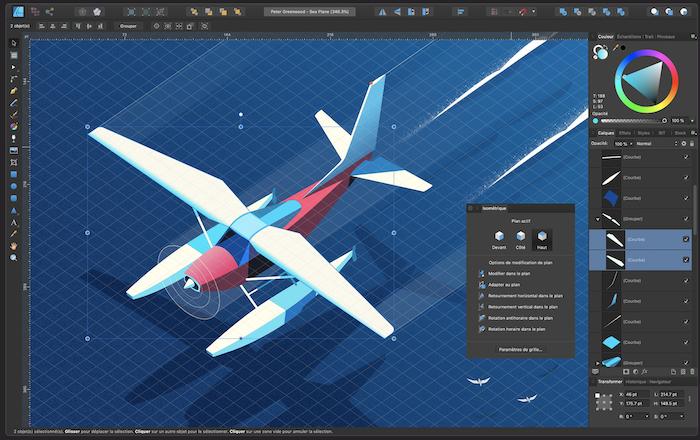 affinity designer illustration outils dessin pour graphiste Freelance
