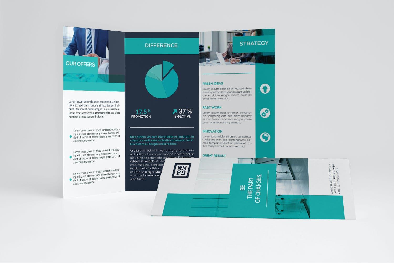plaquette commerciale graphiste Freelance disponible guide ressource