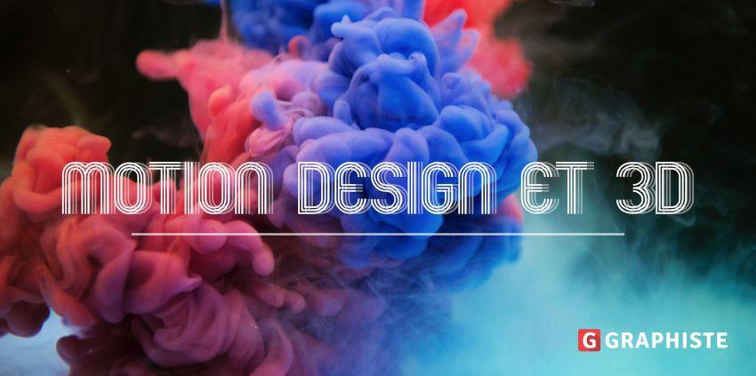 Motion design 3D