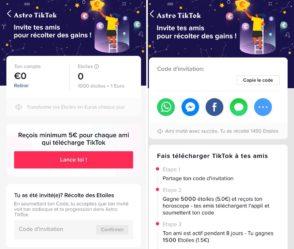 TikTok : gagnez de l'argent en invitant vos amis jusqu'au 30 juin