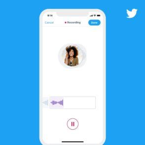 Twitter lance les tweets vocaux