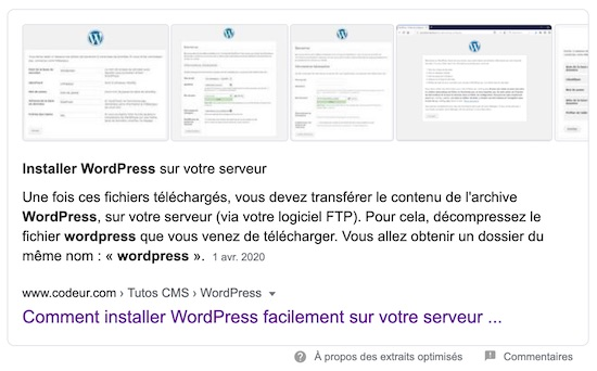 tuto wordpress