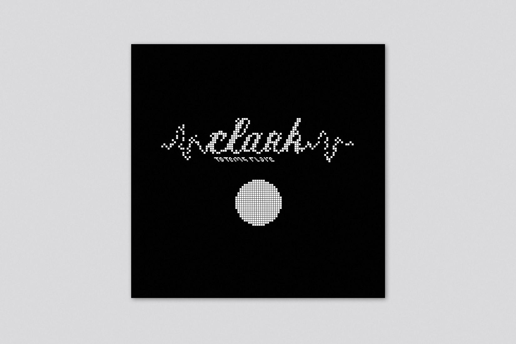 pochette album typographie
