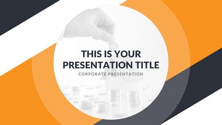template gratuit pour présentation keynote sur Mac free mockup powerpoint immobilier