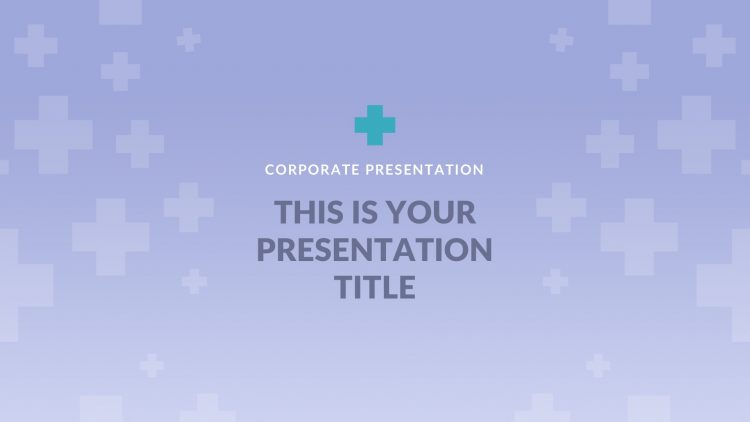 template gratuit pour présentation keynote sur Mac free mockup powerpoint medical