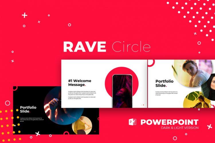 template gratuit pour présentation keynote sur Mac free mockup powerpoint coloré