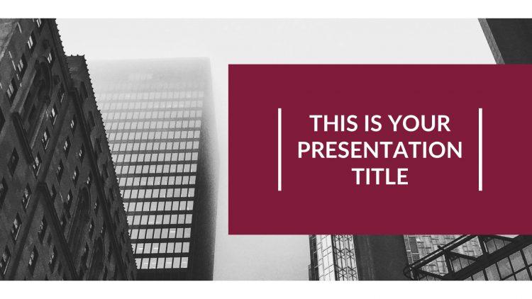 template gratuit pour présentation keynote sur Mac free mockup powerpoint