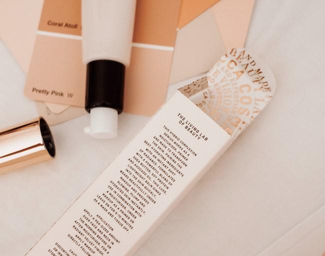 packaging de cosmétique cosmetic vente graphiste freelance mentions légales lois juridique