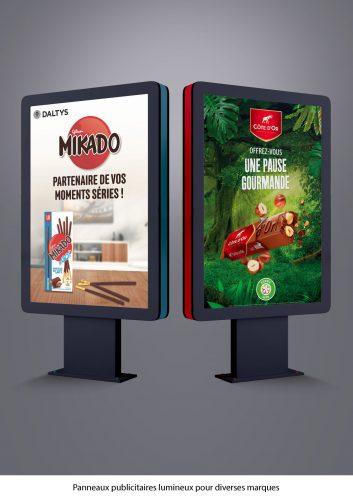 signalétique panneaux publicitaires