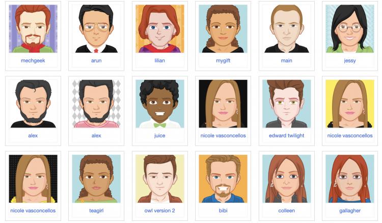 avatar pick a face gratuit