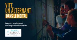 Digital School of Paris : trouvez vos prochains alternants avec la grande école du digital