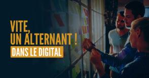 Recrutez un alternant : 10 000 futurs talents du digital recherchent une entreprise pour la rentrée !