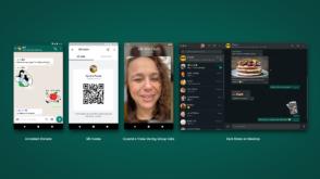 Nouveautés WhatsApp : dark mode sur desktop, stickers animés, QR Code, appels vidéo de groupe améliorés…