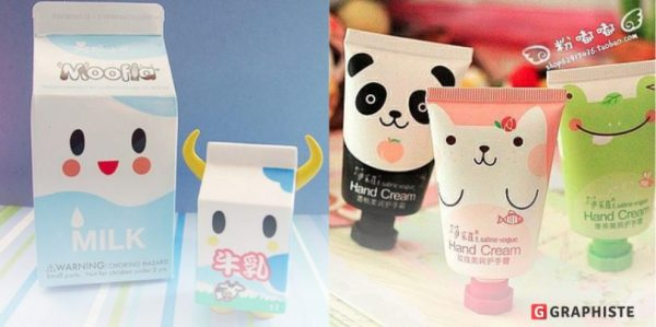 Packaging kawaii