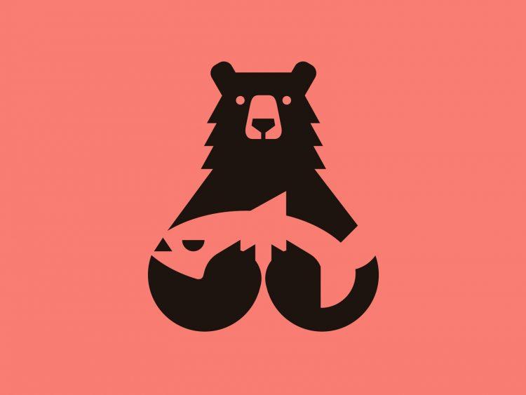 logo ours bear inspiration graphiste freelance