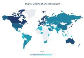Qualité de vie numérique : comment se classe la France ?