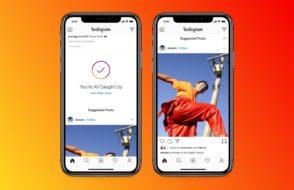 Instagram lance le flux sans fin avec des suggestions de publications