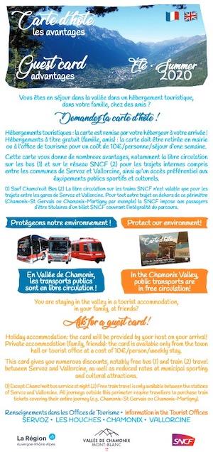 brochure français anglais