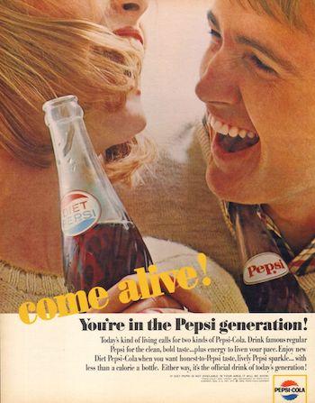 Pepsi Come alive!