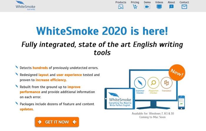 WhiteSmoke correcteur d'ortographe et de grammaire anglais