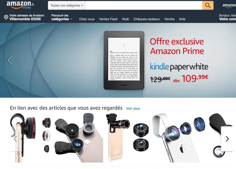exemple e-commerce amazon