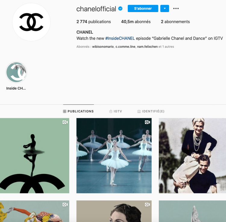 channel instagram social media