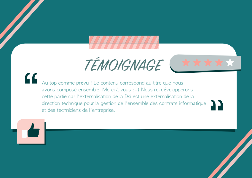 Témoignage client content marketing