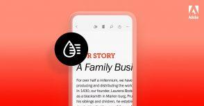 Adobe veut faciliter la lecture des PDF sur mobile avec Liquid Mode