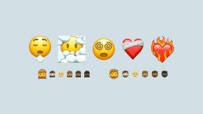 Découvrez les futurs emojis : cœur en feu, tête dans le nuages…