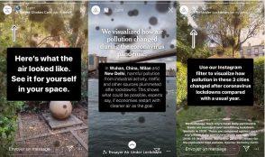 Facebook et le New York Times s'associent autour d'un projet de réalité augmentée