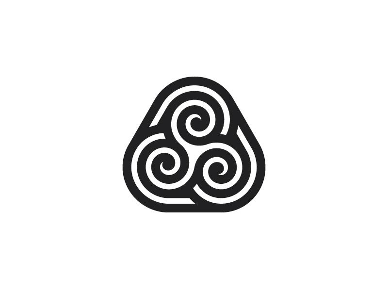 logo symétrique dribble