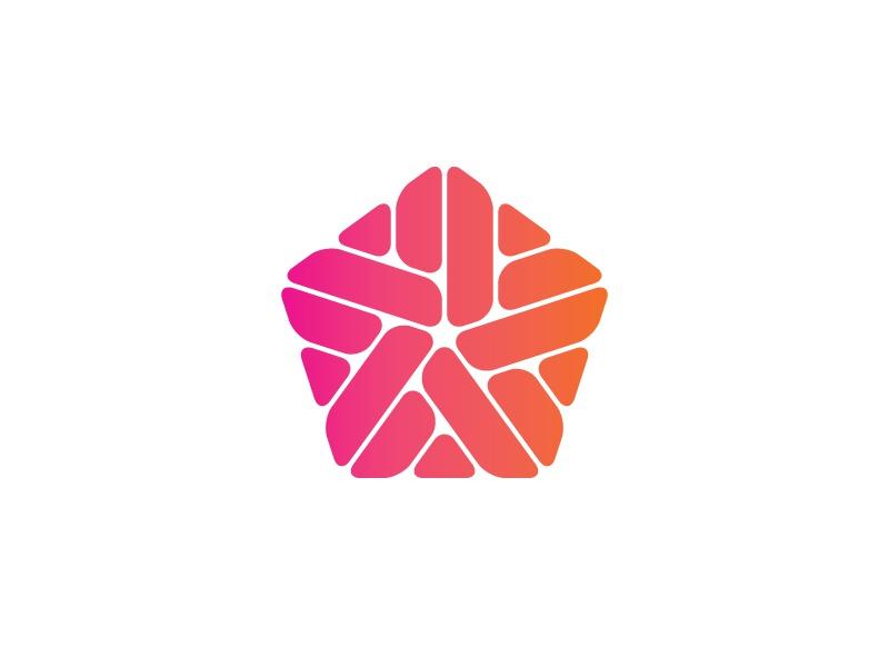 logo symétrique graphiste
