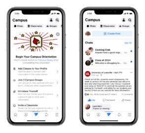 Facebook lance Campus, une section dédiée aux étudiants